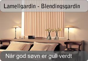 Lamellgardin - Mørkleggingsgardin / Blendingsgardin