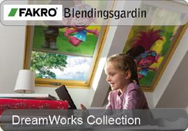 FAKRO blendingsgardin - DreamWorks