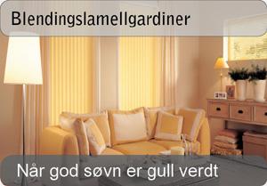 Lamellgardin - lystett