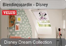 VELUX blendingsgardiner - Disney & Goodnight collection