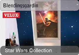 VELUX blendingsgardiner - Star Wars